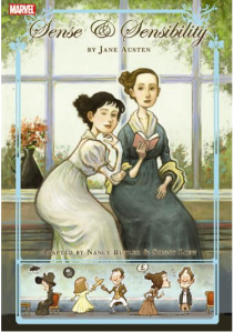 Pick 2: Marvel presents Jane Austen's Sense and Sensibility