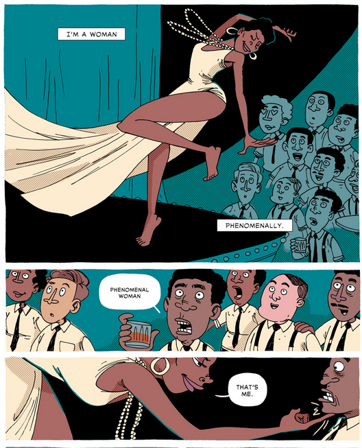 "Maya Angelou's ""Phenomenal Woman"" by Zen Pencils"