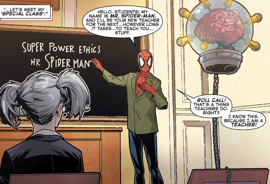 This is not the comic book classroom I'm talking about.